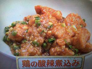 【上沼恵美子のおしゃべりクッキング】鶏の酸辣煮込み レシピ
