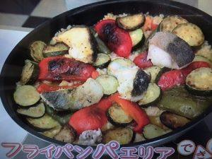 【NHKきょうの料理】栗原 はるみレシピ!フライパンパエリア&きゅうりの甘酢サラダ