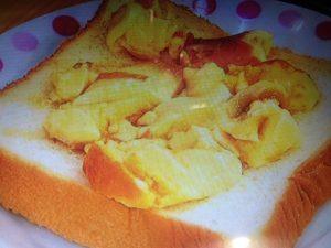 食パンブーム!プリン&紅しょうがトースト レシピ【バイキング】