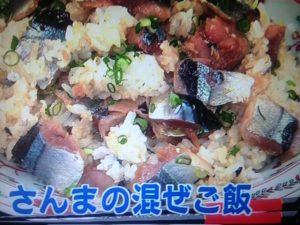 【あさイチ】登紀子ばぁばのさんまの混ぜごはん&ナスのレシピ