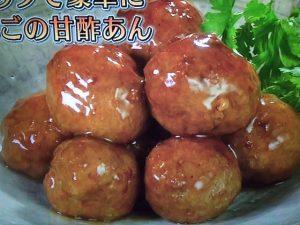 【きょうの料理ビギナーズ】肉だんごの甘酢あん&豚の角煮