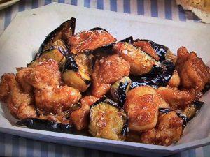 【キューピー3分クッキング】揚げ鶏となすのねぎソースあえ レシピ
