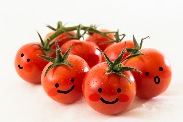 トマト リコピン 効果 画像