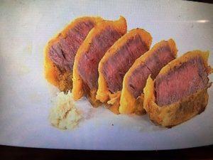 あさイチ 牛肉の黄金焼き