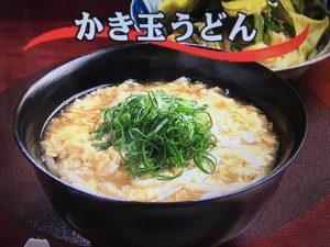 【キューピー3分クッキング】かき玉うどん&キャベツとにらのごま酢あえ レシピ