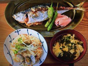 男子ごはんレシピ~アサリの炊き込みごはん・真アジのネギ味噌詰め・ニラと玉子のお吸い物
