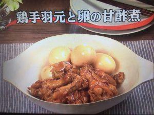 【キューピー3分クッキング】鶏手羽元と卵の甘酢煮 レシピ