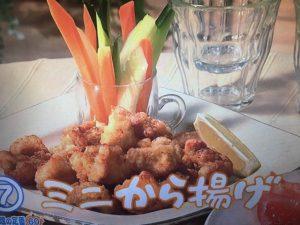きょうの料理 ミニから揚げ