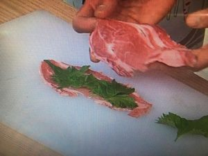 きょうの料理 しそサンド豚カツ