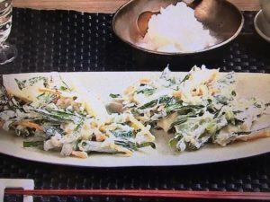 【キューピー3分クッキング】にらと鶏ささ身のかき揚げ レシピ