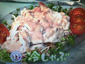【きょうの料理】冷しゃぶ&あじの焼き南蛮 レシピ
