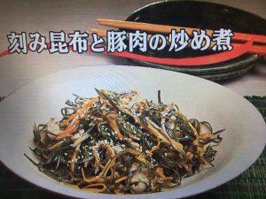 【キューピー3分クッキング】刻み昆布と豚肉の炒め煮&ゴーヤのおかかサラダ