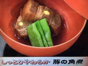 【あさイチ】おからでしっとり 豚の角煮&ササッとおから煮 レシピ