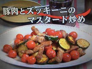 【キューピー3分クッキング】豚肉とズッキーニのマスタード炒め レシピ