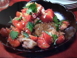 きょうの料理 鶏のジューシートマト竜田揚げ