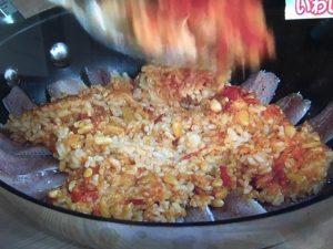 きょうの料理 いわしのトマトピラフ