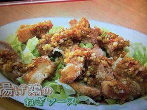 【NHKきょうの料理】栗原はるみ レシピ~揚げ鶏のねぎソース、フライパンチャーシュー、れんこん餅