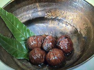 【NHKきょうの料理】栗の渋皮煮&栗と鶏肉の炒め物