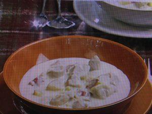 【キューピー3分クッキング】鶏肉とさつま芋のクリーム煮 レシピ