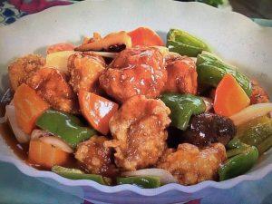 【NHKきょうの料理】栗原はるみ レシピ~酢豚&ねぎとしいたけの炒め物