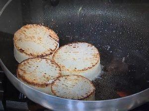 きょうの料理 大根と鶏肉のしょうが焼き