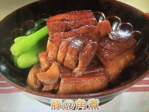 きょうの料理ビギナーズ 豚の角煮