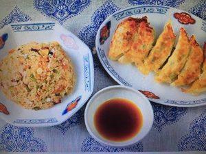 男子ごはん レシピ!タコと鮭のガーリックチャーハン&海鮮炒り卵餃子