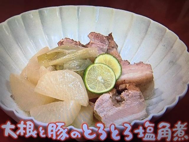 【NHKきょうの料理】練りごまたっぷり豚汁・大根と豚のとろとろ塩角煮など
