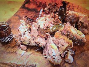【NHKきょうの料理】ローストポーク、しいたけのアヒージョ、葉野菜のサラダ レシピ