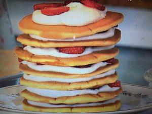 きょうの料理 いちごのパンケーキツリー