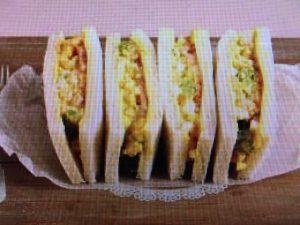 上沼恵美子のおしゃべりクッキング シュリンプ・サンドイッチ