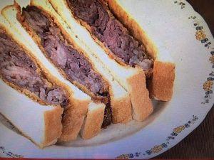 【あさイチ】こま切れ肉で!ビーフカツサンド レシピ