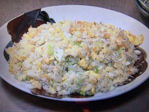 【NHKきょうの料理】しらすの焼き飯&ほうれんそう炒め レシピ