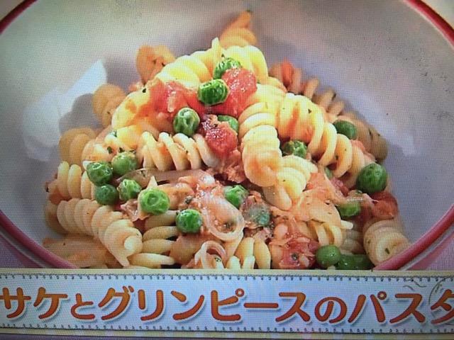 【上沼恵美子のおしゃべりクッキング】サケとグリンピースのパスタ レシピ