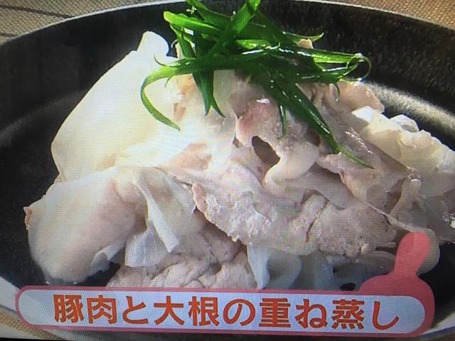 【きょうの料理ビギナーズ】豚肉と大根の重ね蒸し&豚肉ロール蒸し レシピ