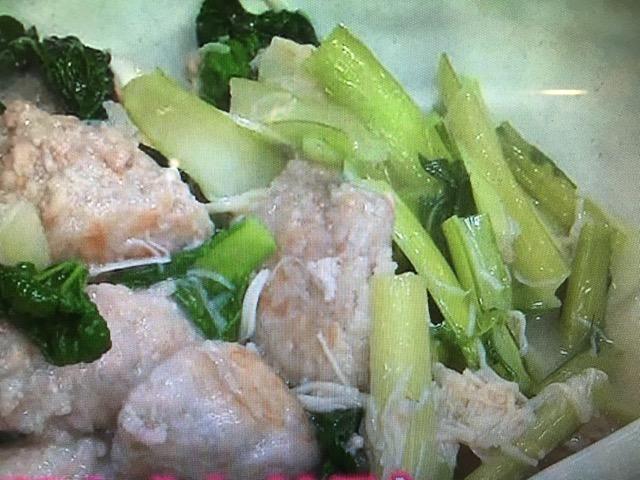 【キューピー3分クッキング】れんこんだんごのスープ煮 レシピ