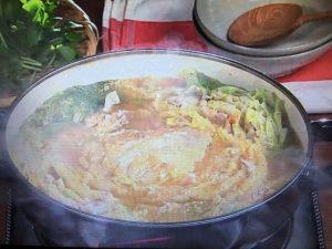 【キューピー3分クッキング】白菜と豚バラ肉のみそ鍋 レシピ