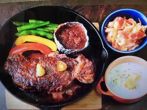 【男子ごはん】2017大反響レシピ ベスト3~玉ねぎとりんごのすりおろしソースのステーキ