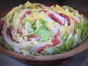 きょうの料理 白菜と豚肉のチーズ鍋