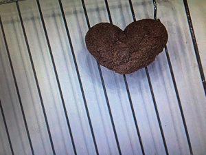 あさイチ チョコハートクッキー