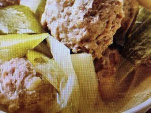 きょうの料理 しょうが肉だんごとねぎのスープ