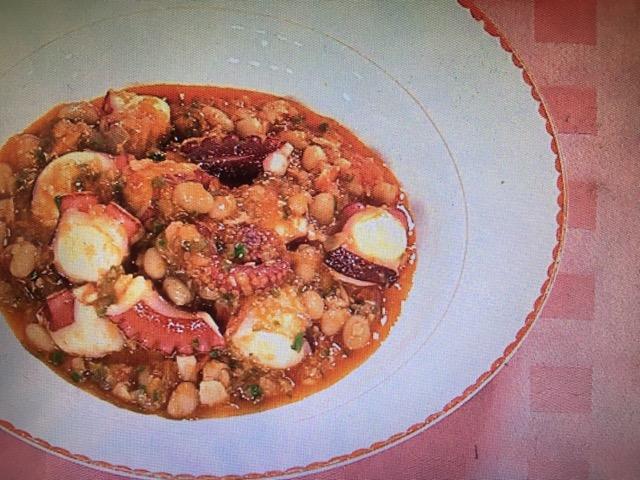 【上沼恵美子のおしゃべりクッキング】豆とたこの煮込み レシピ