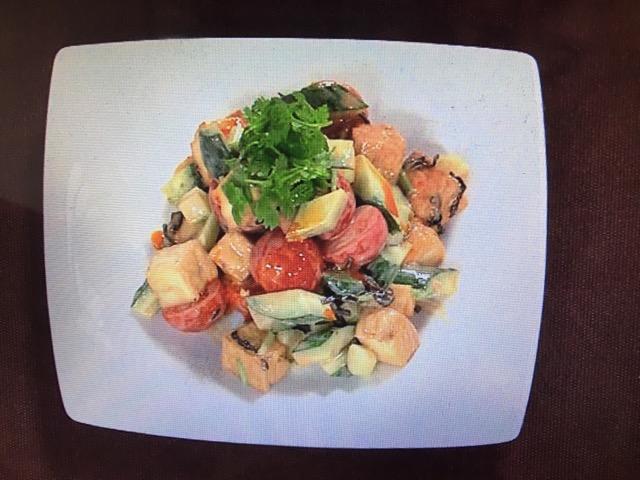 【上沼恵美子のおしゃべりクッキング】厚揚げの辛味和え レシピ