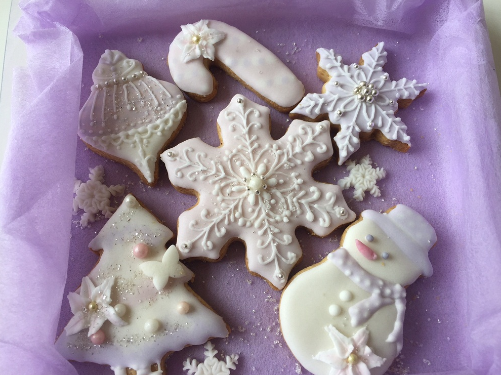 クリスマス アイシングクッキー 画像