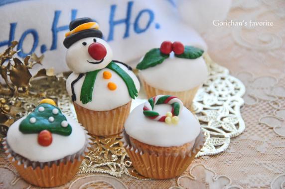 クリスマス カップケーキ クックパッド 画像