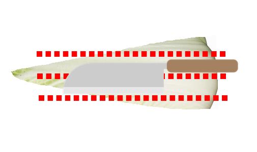 白菜 切り方 画像