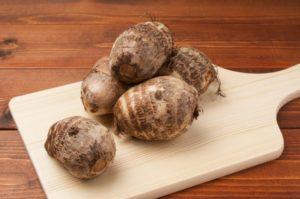 里芋の正しいぬめり取り~ぬめりを取りすぎると栄養成分が減る!