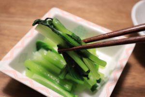 【ガッテン】小松菜大変身レシピ~おひたし・野沢菜風・小松菜だし