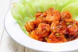 電子レンジで作れるエビチリレシピ。あさイチのレンジアップ惣菜