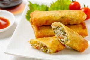あさイチ アスパラガスとささみの春巻き レシピ。生の具材で簡単。